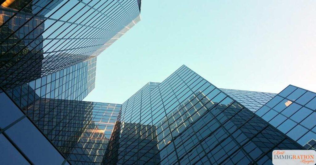 skyscraper office